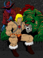 He-Man by NathanKroll