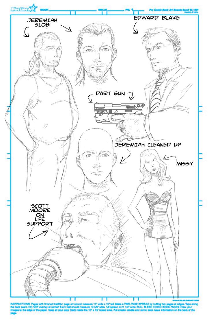 Caretaker Sketch by NathanKroll