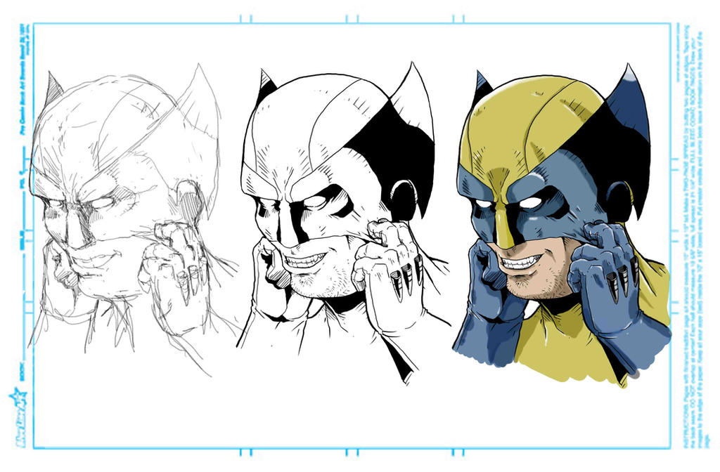 Wolverine masks up by NathanKroll