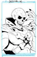 Skeletor Sketch by NathanKroll
