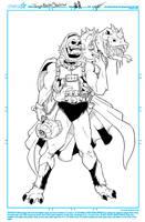 Dragon Blaster Skeletor by NathanKroll