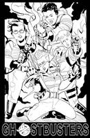 Ghostbusters Poster by NathanKroll