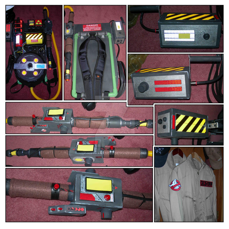 Diy Real Ghostbusters Proton Pack By Nathankroll On Deviantart