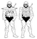 Skeletor / Battle Armor Skeletor
