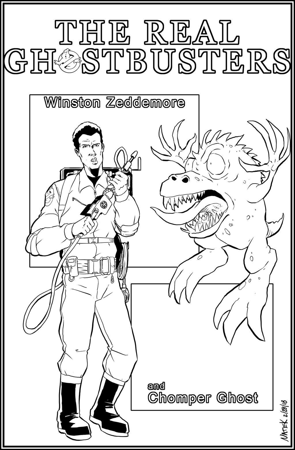 Winston Zeddemore by NathanKroll