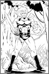 Lion-O, Lord of the ThunderCats by NathanKroll