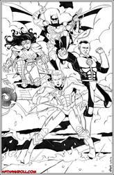 Flash JLA by NathanKroll