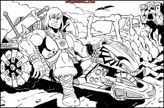 He-Man and Road Ripper