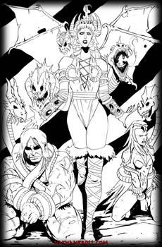 The Goddess Tiamat