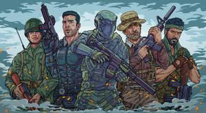 Call of Duty Public art