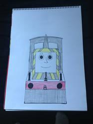 Mavis the Quarry engine by TrackmasterPrime