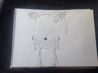 The Tails Doll (Uncoloured) by TrackmasterPrime