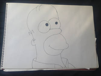 Homer Simpson by TrackmasterPrime