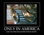 Only in America...