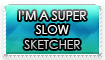 Slow Sketcher Stamp by GeneralGibby