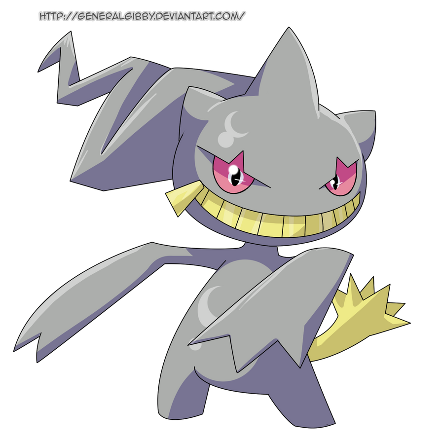 My favorite ghost type 2014 banette by generalgibby on - Branette pokemon y ...