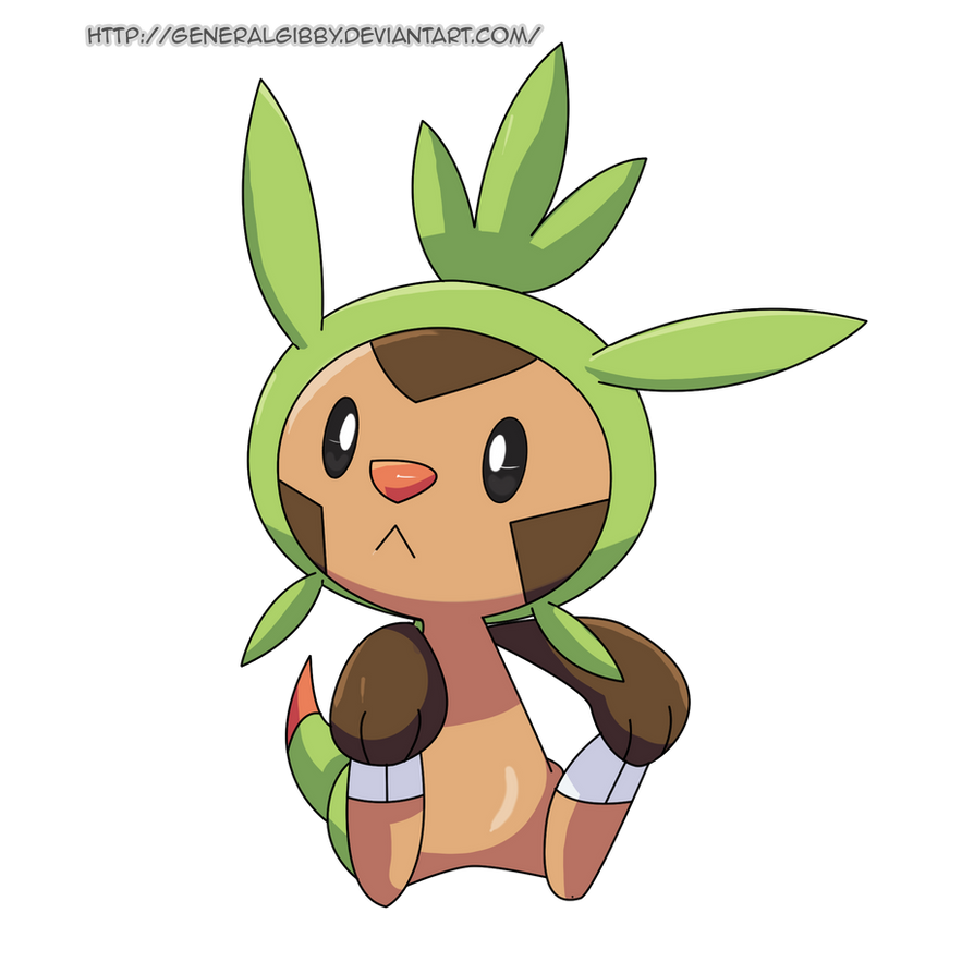 My Favorite Grass Type 2014- Chespin by GeneralGibby