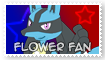 Stamp- Flower Fan by GeneralGibby