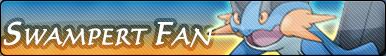 Swampert Fan Button by GeneralGibby