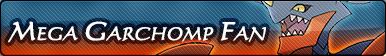 Mega Garchomp Fan Button by GeneralGibby