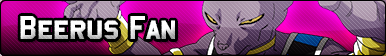 Beerus Fan Button