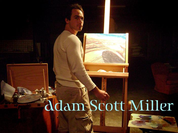 The Psychedelic Art of Adam Scott Miller