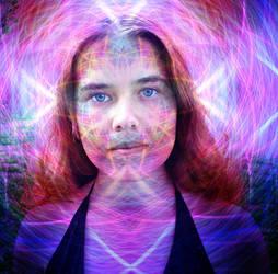 Alice In The Looking Glass by Adam-Scott-Miller