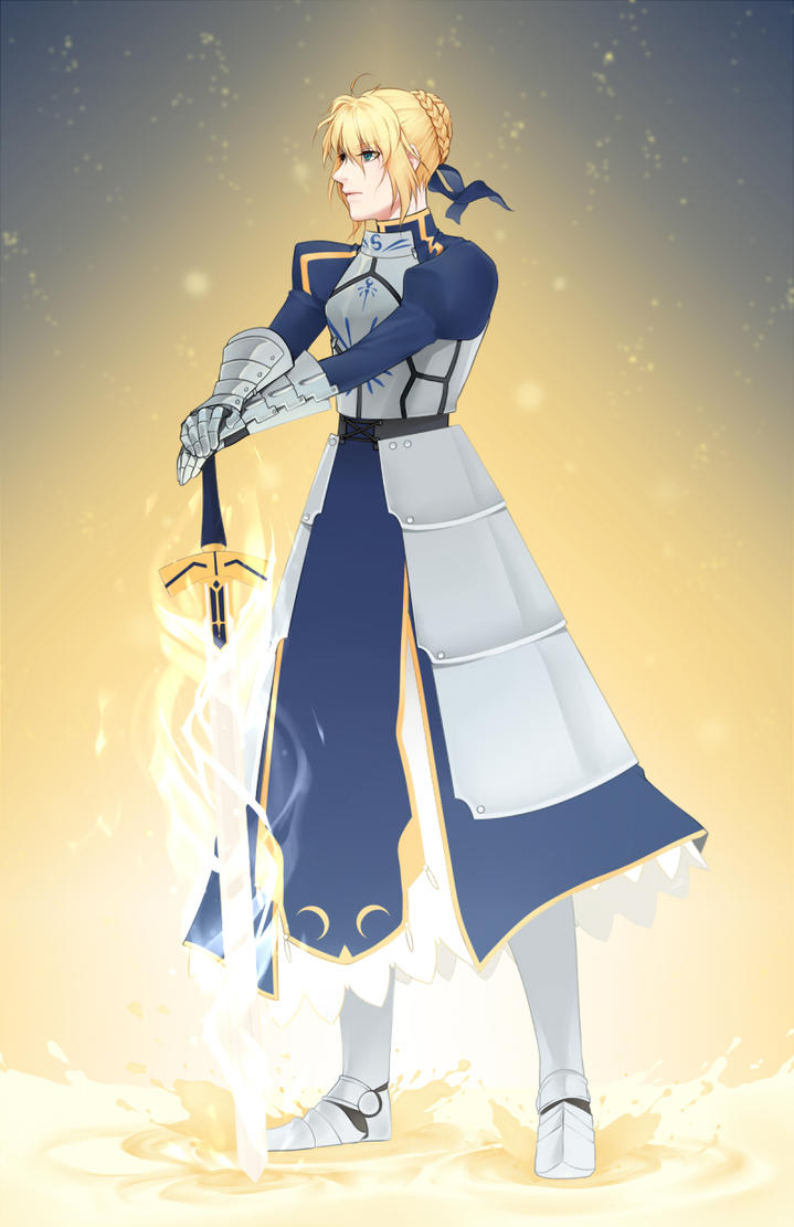 Saber's Light by Lilbang