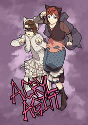 Acryl Agitt Cat Duo
