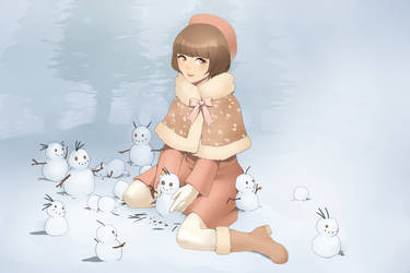Fauna and the Snowman