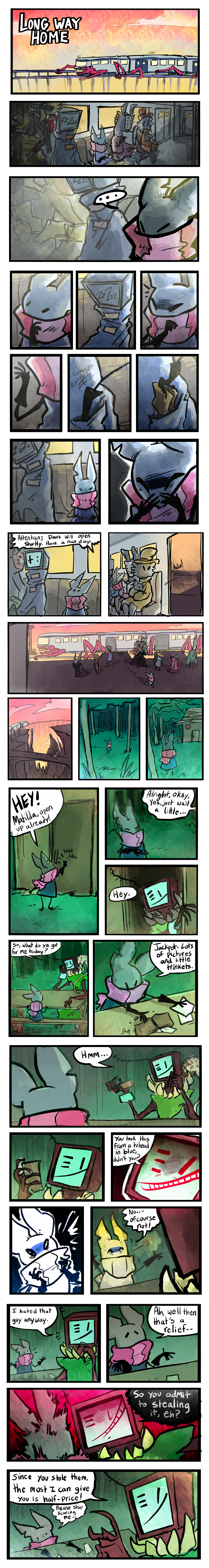 Long Way Home pt1 (24 hr comic day)