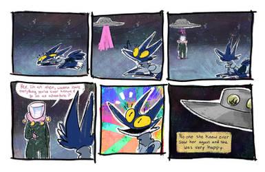 alien comic by pengosolvent