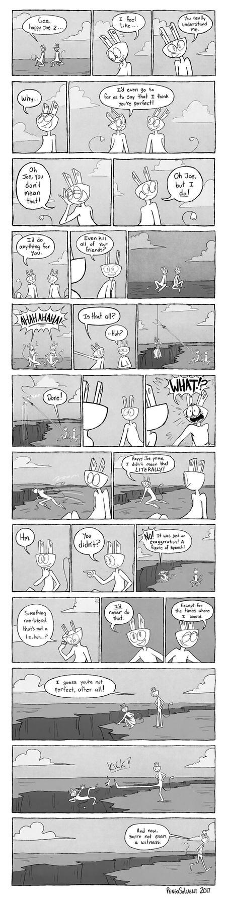 Happy Joe 2 Comic by pengosolvent