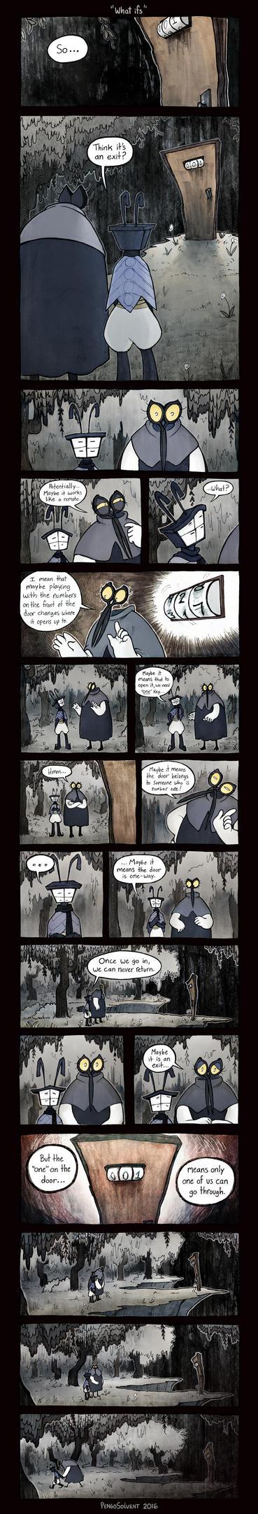ObjectHead Zine Comic by pengosolvent