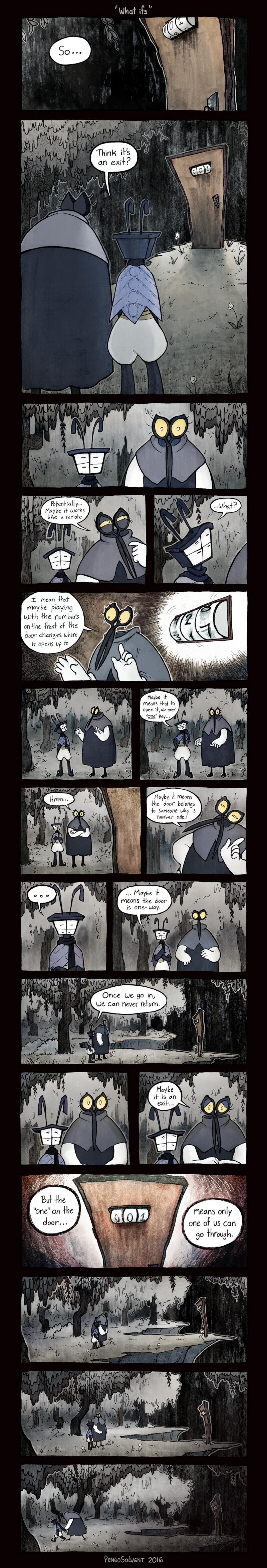 ObjectHead Zine Comic