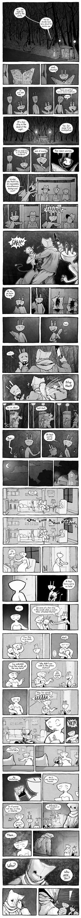 Happy Joe 3 Comic part 1 by pengosolvent