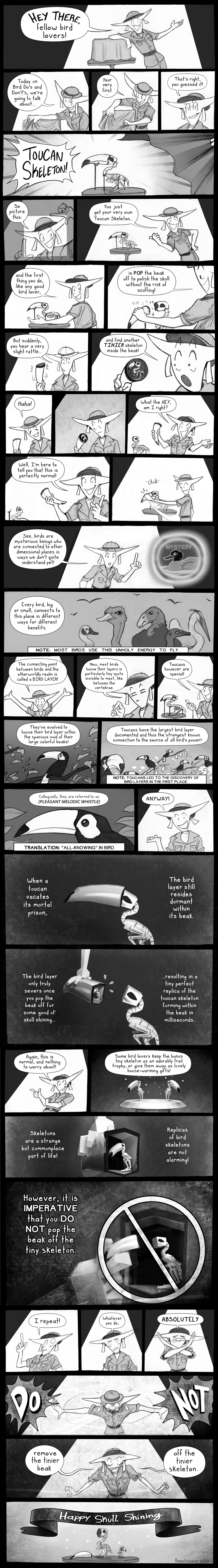 Bird Lovers Comic by pengosolvent