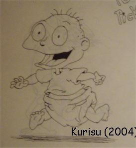 Rugrats-Tommy Pickles-Kurisu by Kurisudischordian