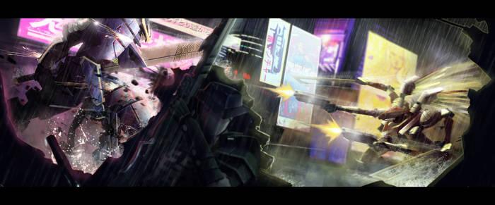 Robo mecha boom