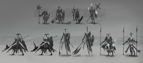 Ghost Knight Enemy Thumbnails