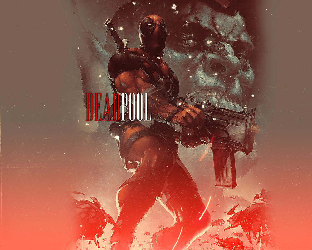 DEADPOOL by pocketzombiez