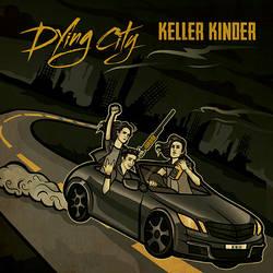 Keller Kinder Album Design 'Dying City'