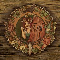 Emchy album cover - Feral