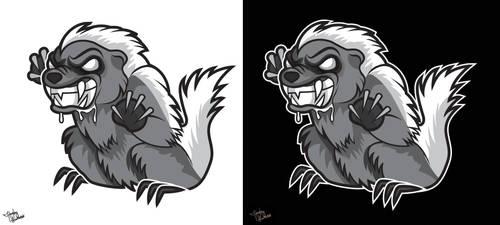 Feral Badger