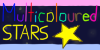 Multicolored-stars ::entry:: by Yuki-the-Kisune