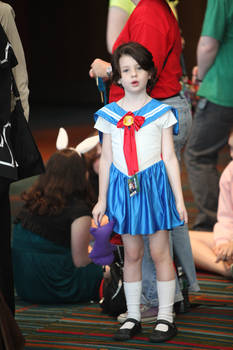 Chibi Sailor Moon at CTcon