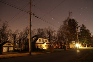 Moonlit Street by octomobiki