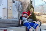 Chrono Cross - Kidd and Serge Photoshoot 4