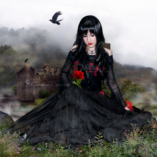 Forbidden Rose by Karolina-Borkowski