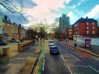 Streets of London by Karolina-Borkowski